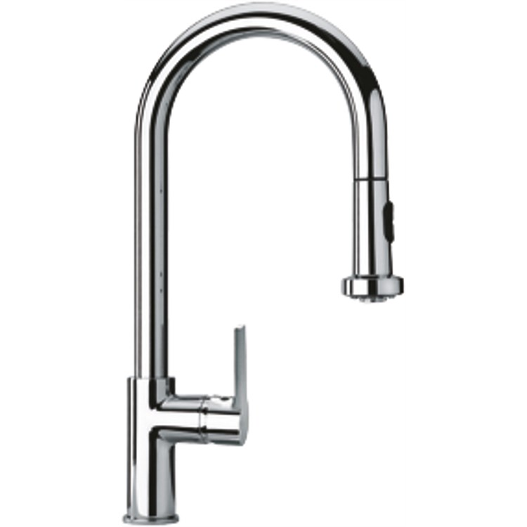 Paini Le Mans Sink Mixer with Pull-Out Spray