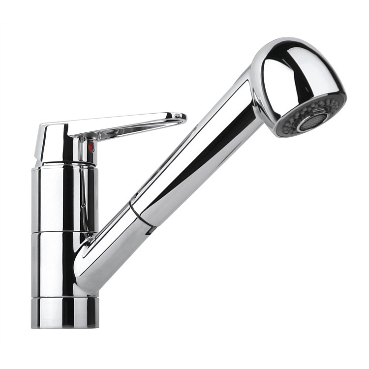 Paini Ventus Kitchen Mixer with Pull-Out Spray