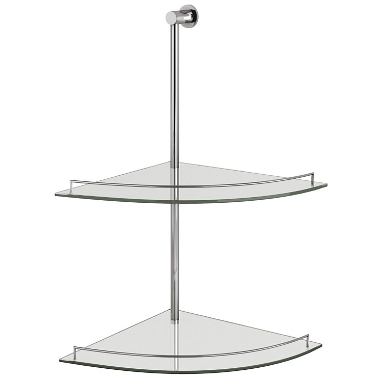LeVivi 450mm Double Glass Shower Shelf