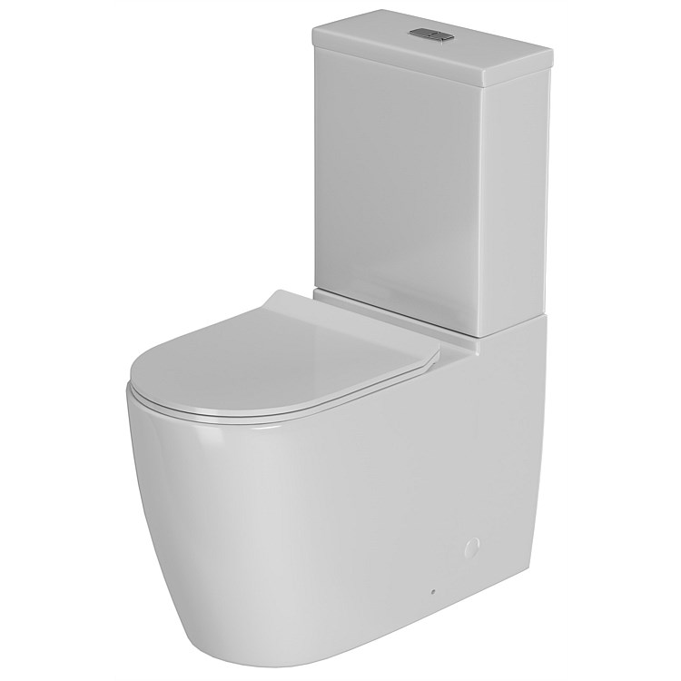 LeVivi Marbella Rimless Back-To-Wall Toilet Suite