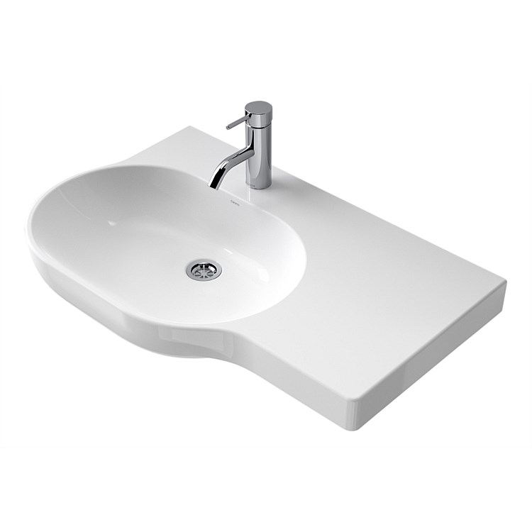 Caroma Opal 720mm Wall Basin Right Hand Shelf
