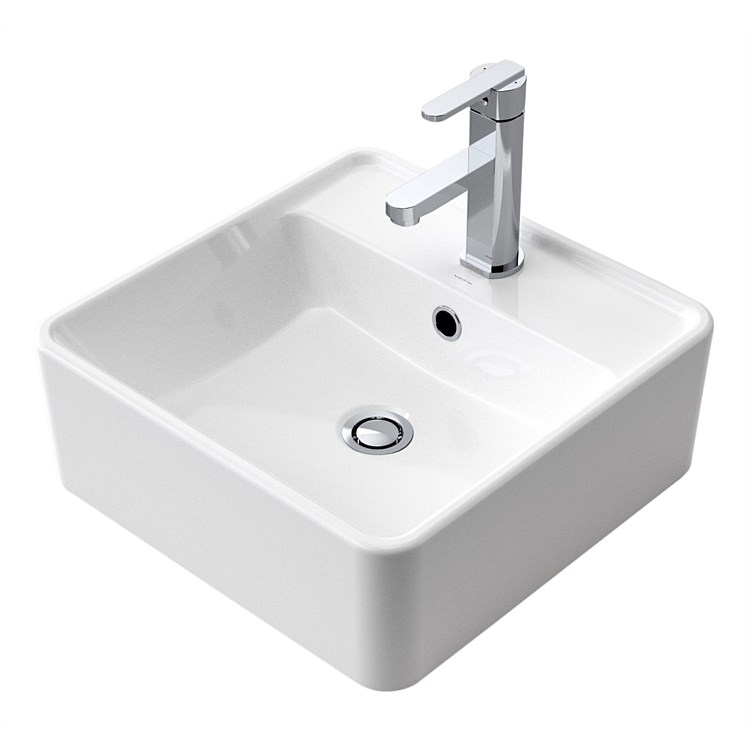 Caroma Carboni II 415mm Above Counter Basin