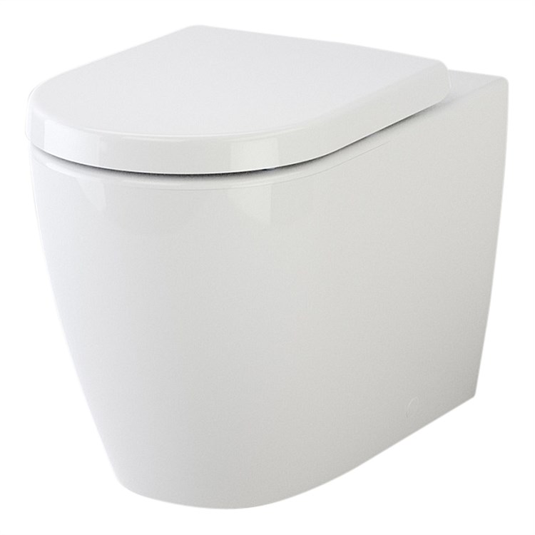 Caroma Urbane Wall Faced Invisi II Toilet Suite