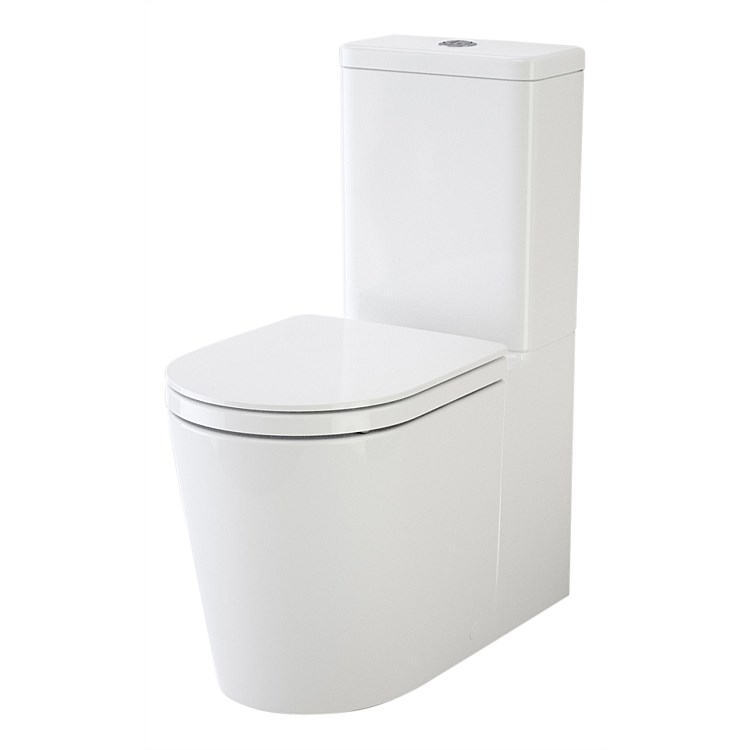 Caroma Liano Wall Faced Toilet Suite