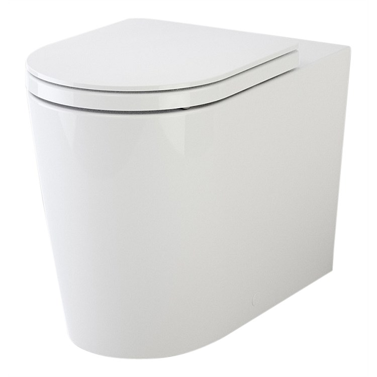Caroma Liano Wall Faced Invisi II Easy Height Toilet Suite