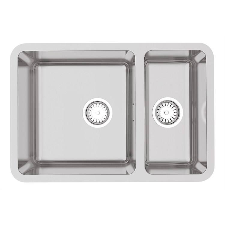 Burns & Ferrall Designer Range R25 Undermount Bowl & 1/2