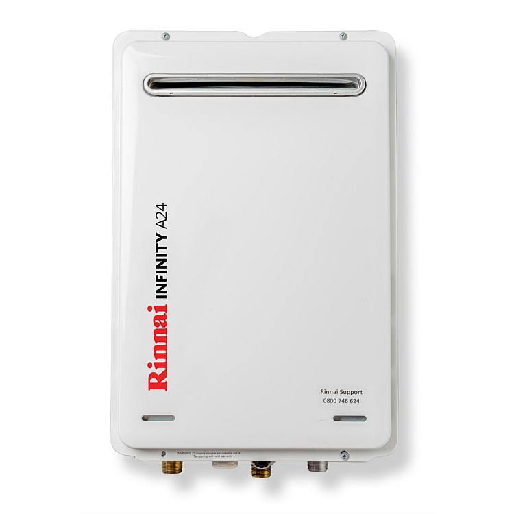 Rinnai Infinity® 24L LPG A Series Continuous Flow Water Heater