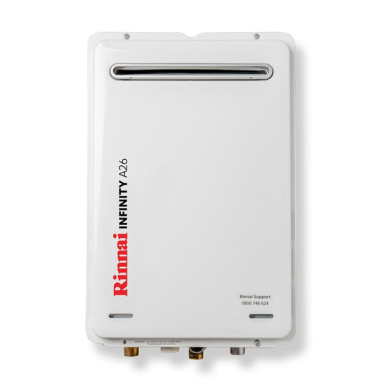 Rinnai Infinity® 26L LPG A Series Continuous Flow Water Heater