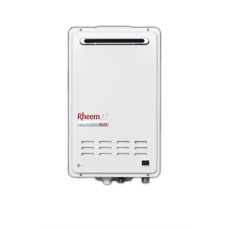 Rheem Gas 27L NG Continuous Flow Water Heater