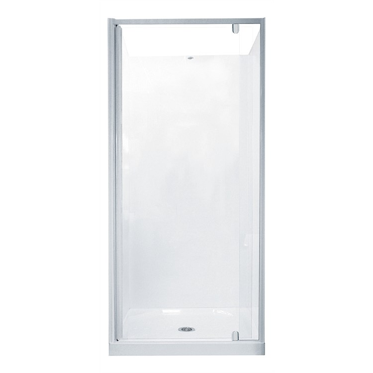 Athena Trombone 840mm Shower Door