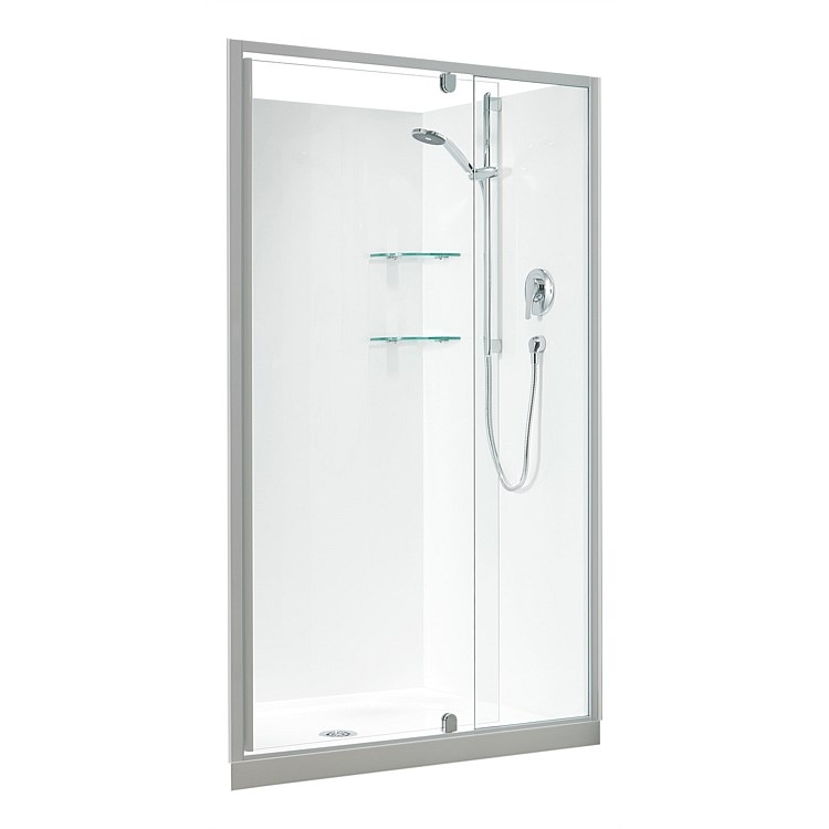 Acrylic Clearlite Sierra 1200mm 3 Sided Rectangle Shower