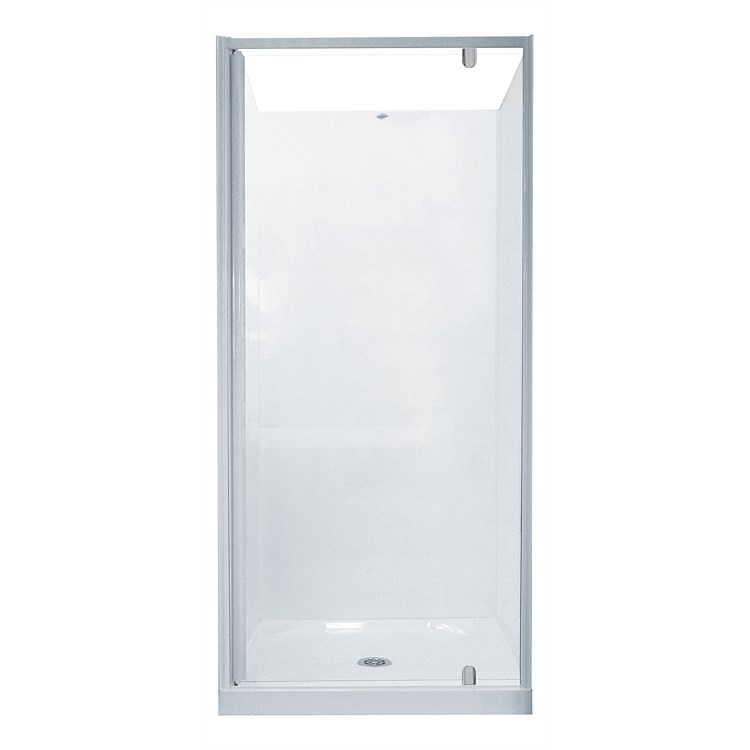 Clearlite Sierra 900mm 3 Sided Square Shower Enclosure