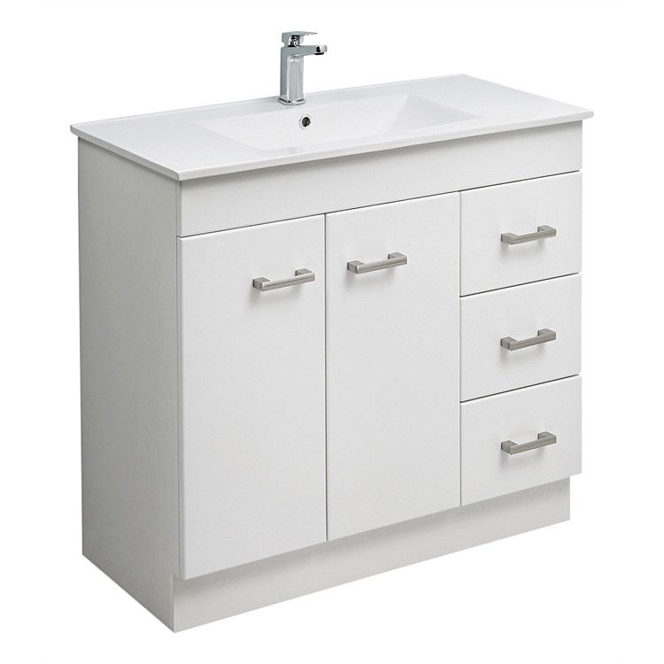 Clearlite Cashmere 900mm Classic Vanity