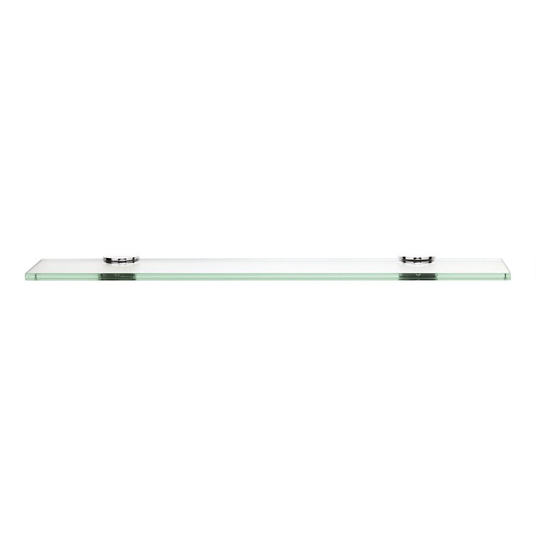 Tranquillity Toughened 450mm Glass Corner Shelf