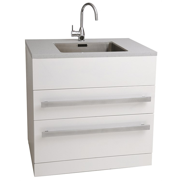 Aquatica LaundraMax 900mm Laundry Tub with Composite Top