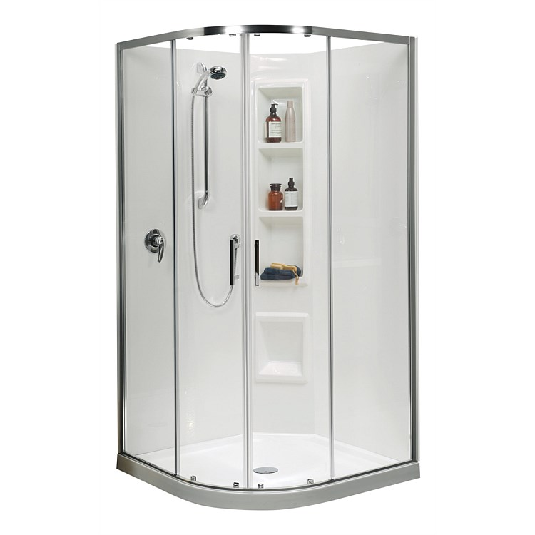 Clearlite Cezanne 900mm Round Shower Enclosure