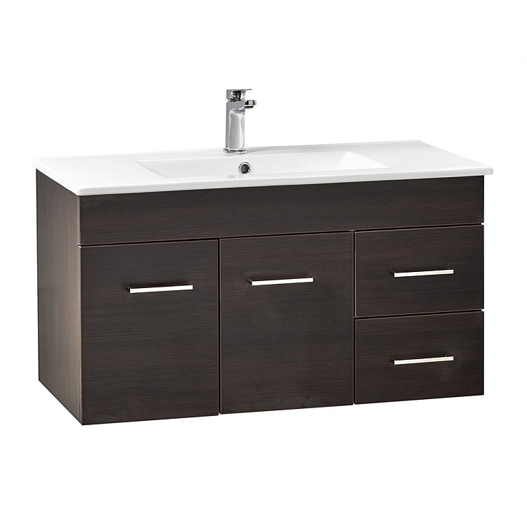 Clearlite Cashmere Classic 900mm Wall-Hung Vanity