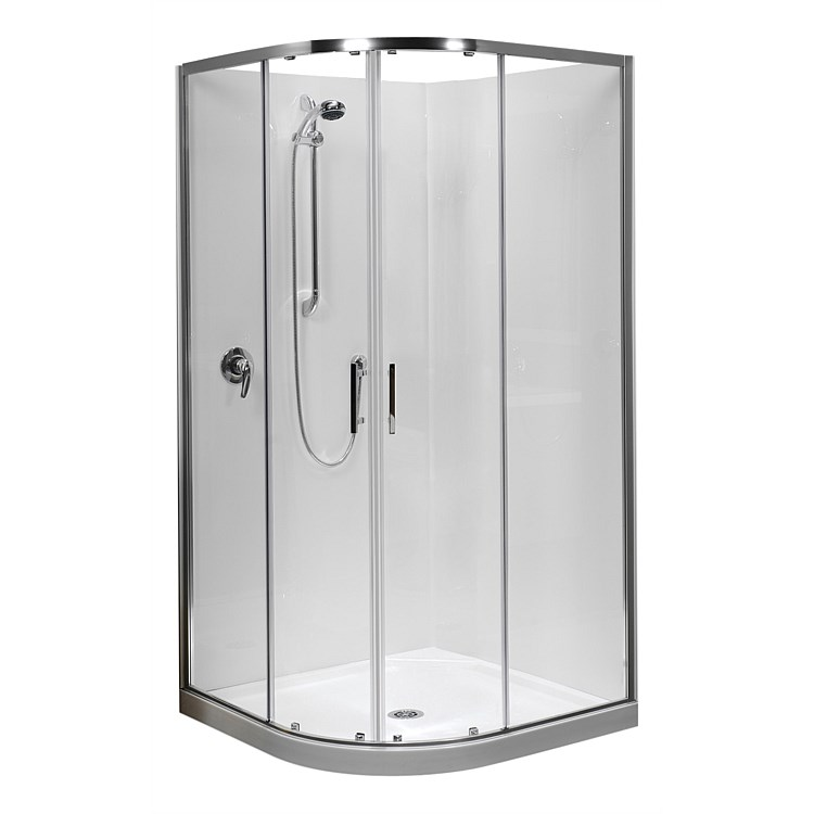 Clearlite Cezanne 1000mm Round Shower Enclosure