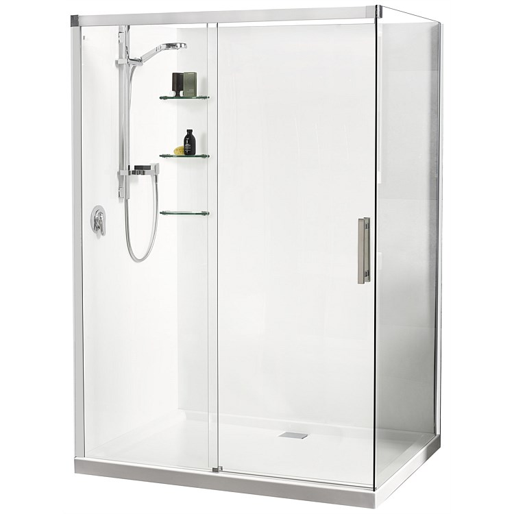 Athena Motio 1600mm Sliding Door Shower