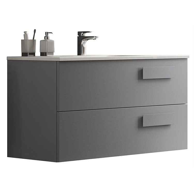 Inda Street 1200mm Double Bowl Wall-Hung Vanity