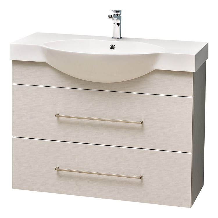 Clearlite Raglan 900mm Wall-Hung Vanity