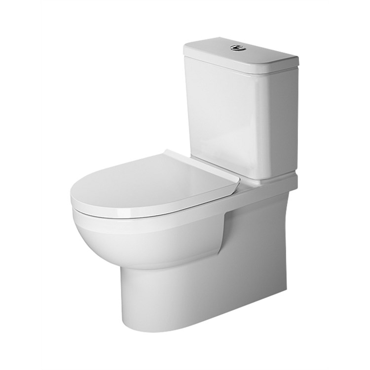 Duravit DuraStyle Basic Back-To-Wall Toilet Suite