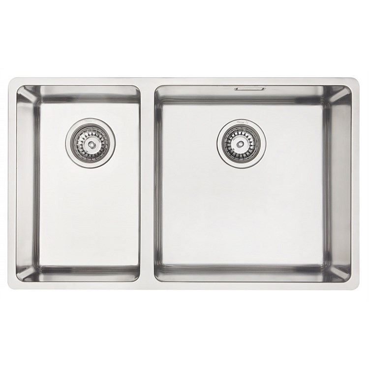 Mercer Designer Double Bowl LH Sink