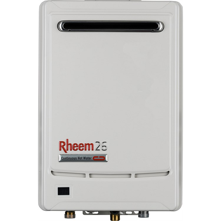 Rheem Gas 26L NG Continuous Flow Water Heater