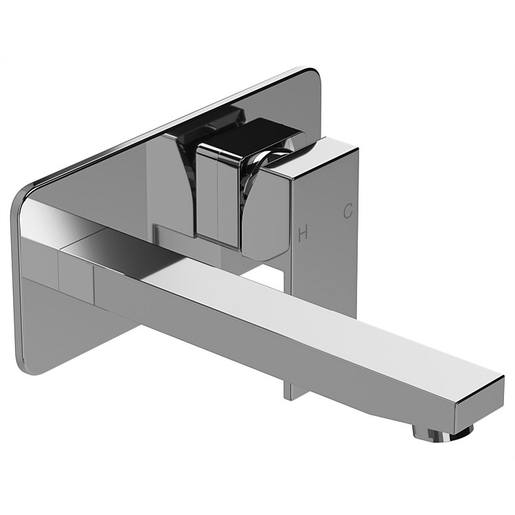 LeVivi Elba Wall Basin Mixer Chrome