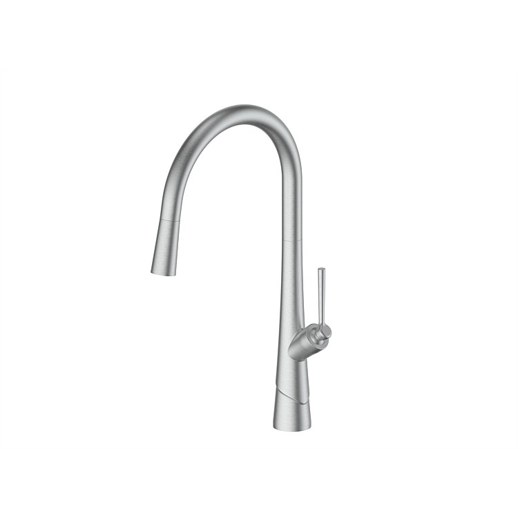 Greens Lustro Sink Mixer Brushed Stainless