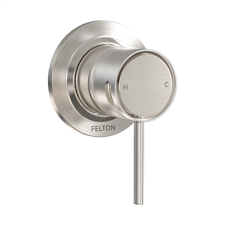 Tate Shower Mixer Brushed Nickel