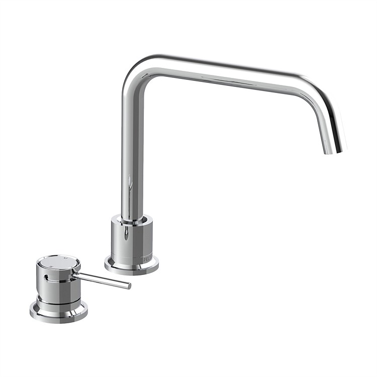 Tate Deck Mounted Sink Mixer Chrome
