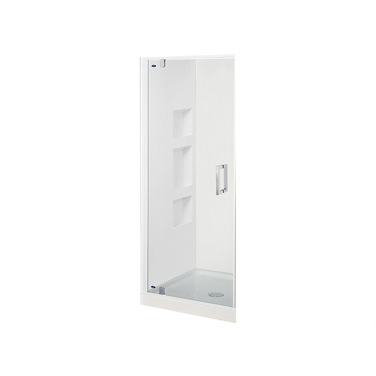 Englefield Azure II 900mm 3 Sided Recessed Wall Shower Enclosure