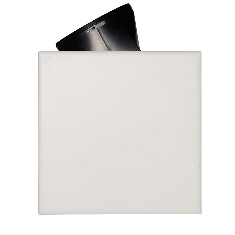 Martec Flow Square 300mm Exhaust Fan White