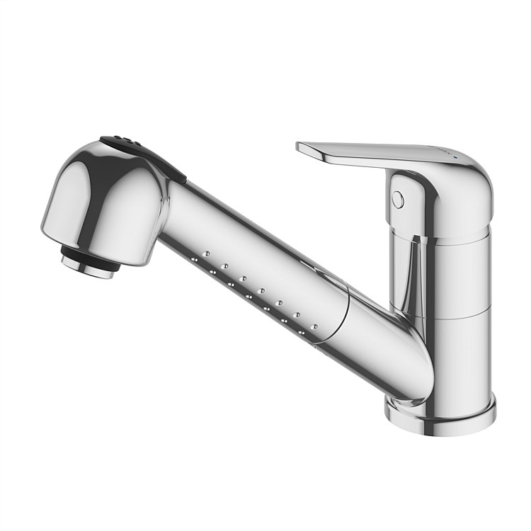 Methven Centique Single Lever Sink Mixer With Pull Out Spray Head