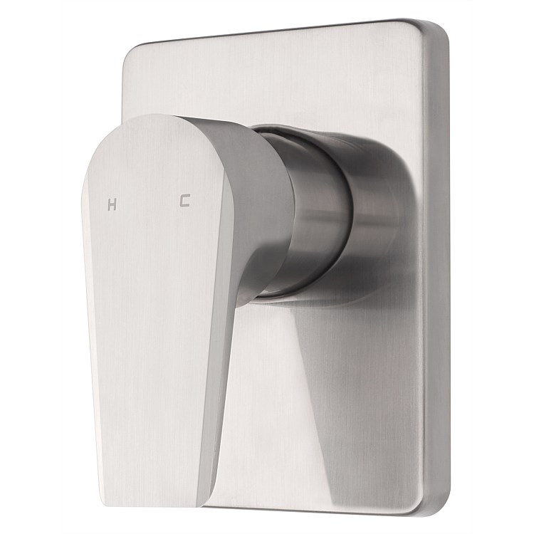 Voda Olympia Vortex Shower Mixer Brushed Nickel
