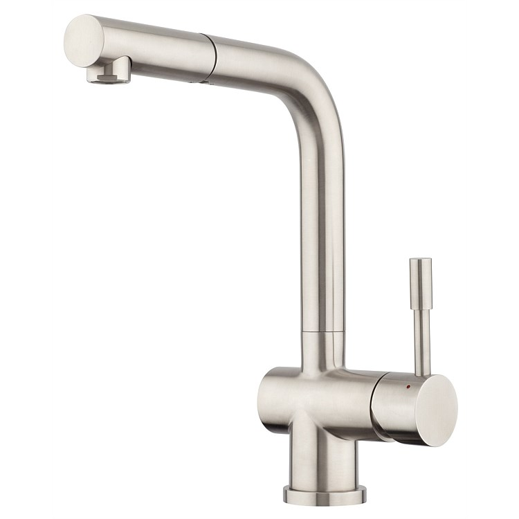 Voda Pullout High Rise Sink Mixer Stainless Steel