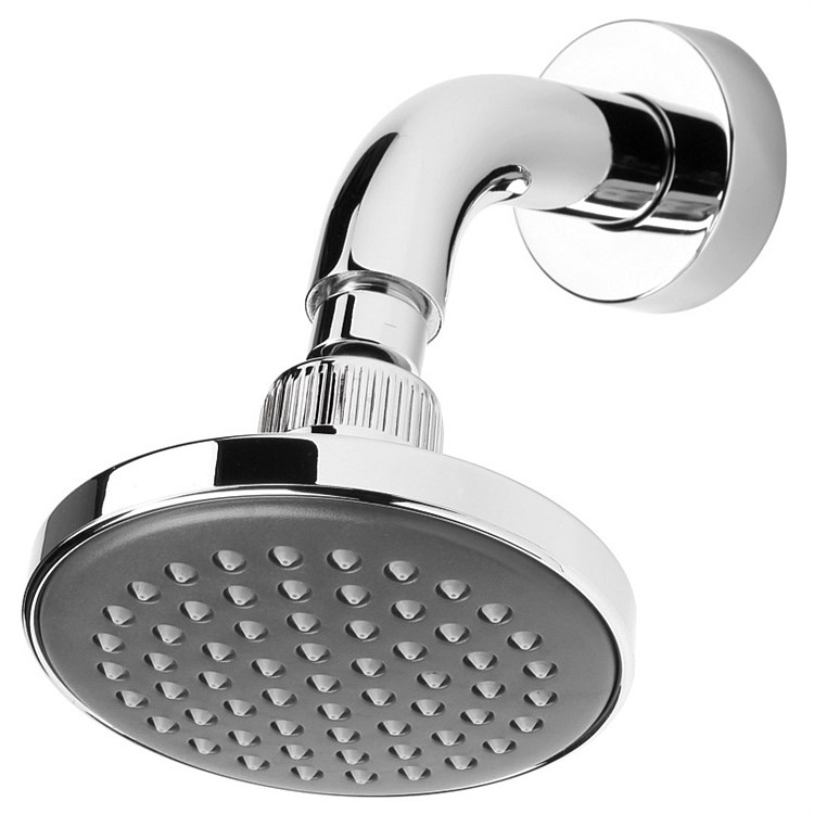 Voda Wall Mounted Shower Rose (Round) Chrome