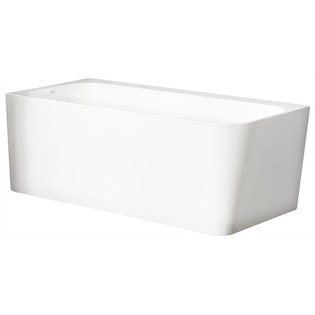 Athena Contro 1600mm Back-To-Wall Bath