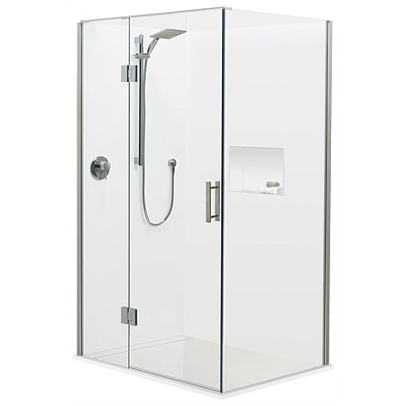 Atlantis Brenner 900mm 2 Wall Shower Enclosure