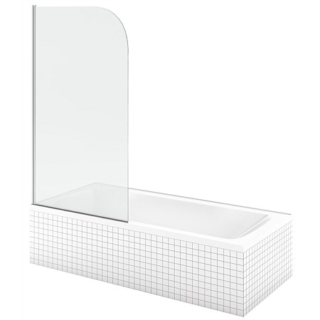 LeVivi Cabris 1400mm Single Swing Panel Bath Screen