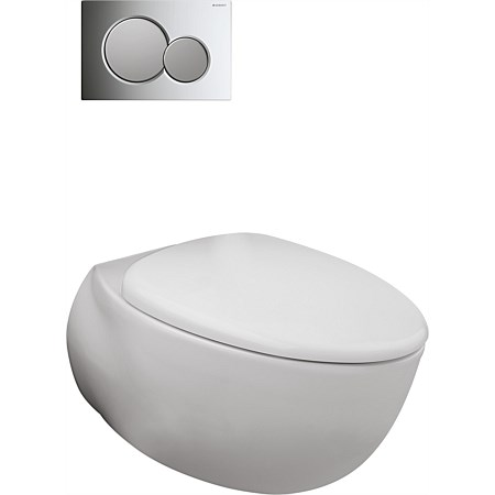 Toto Le Muse Wall-Hung Toilet Suite