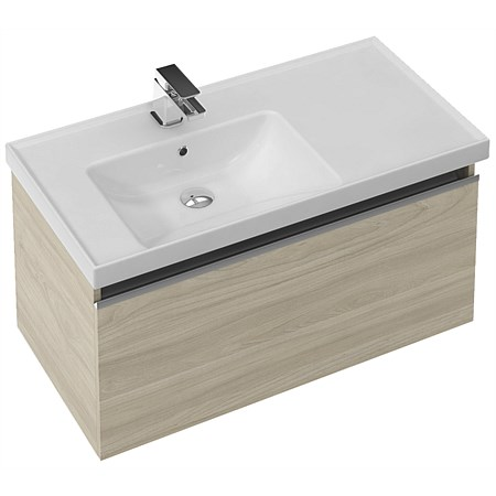 St Michel Dusk 900mm LH Wall-Hung Vanity