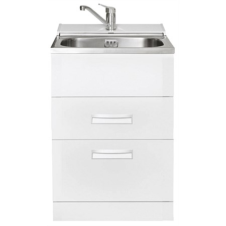 LeVivi Hub Tub 560mm Drawer Laundry Tub