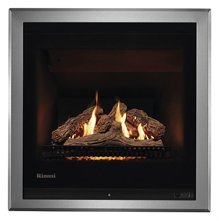 Rinnai Ember 600 NG Log Gas Fire