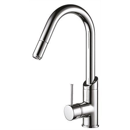 Methven Minimalist Goose Neck Pull-Down Sink Mixer