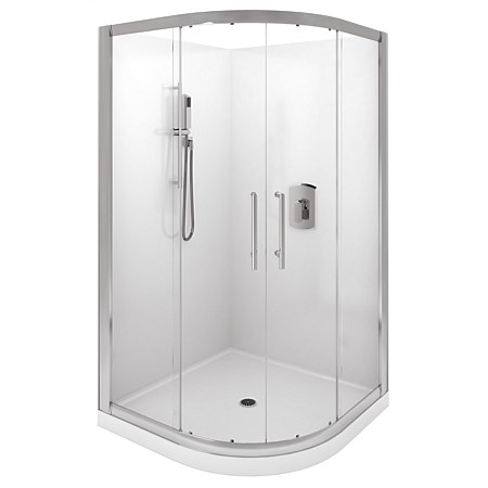 LeVivi Cabris 900mm Round Shower Enclosure