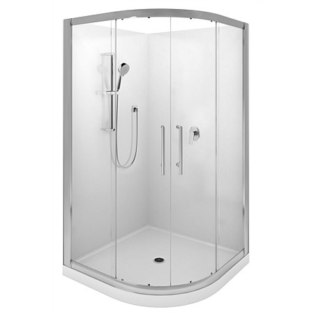 LeVivi Cabris 1000mm Round Shower Enclosure