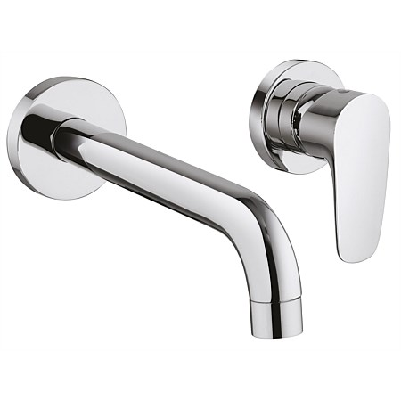Paini Parallel 140mm Wall Mounted Basin Mixer