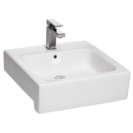 Toto Valdes Square Semi-Recessed Basin